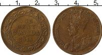 Изображение Монеты Канада 1 цент 1916 Бронза XF