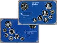 Изображение Подарочные монеты Швейцария Набор 2009 года 2009  Proof