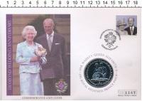 Изображение Подарочные монеты Виргинские острова 1 доллар 2007 Медно-никель UNC