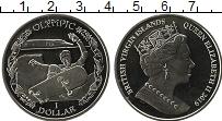 Изображение Мелочь Виргинские острова 1 доллар 2019 Медно-никель UNC Олимпиада. Скейтборд