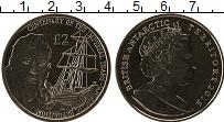 Изображение Монеты Антарктика Антарктида 2 фунта 2015 Медно-никель UNC
