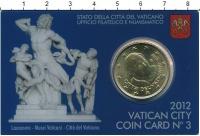 Изображение Подарочные монеты Ватикан 50 евроцентов 2012 Медь UNC
