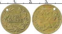 Изображение Монеты Германия Жетон 0 Латунь VF Виктория