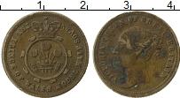 Изображение Монеты Великобритания Жетон 0 Латунь XF Виктория