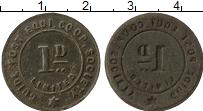 Изображение Монеты Великобритания 1 пенни 0 Железо XF- Токен.