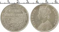 Изображение Монеты Индия Биканир 1 рупия 1892 Серебро XF