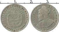 Изображение Монеты Панама 5 сентесим 1904 Серебро XF Бальбоа