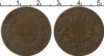 Изображение Монеты Индия 1/4 анны 1835 Бронза VF