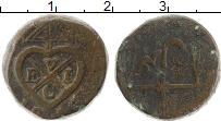 Изображение Монеты Индия Бомбей 4 пайса 1813 Медь VF