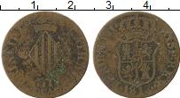 Изображение Монеты Испания Каталония 2 кварты 1813 Медь VF