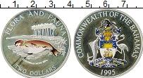 Продать Монеты Багамские острова 2 доллара 1995 Серебро
