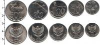 Изображение Наборы монет Индонезия Индонезия 1996-2003 0 Алюминий UNC В наборе 5 монет ном