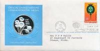 Изображение Подарочные монеты США Медаль ООН 1973 Серебро Proof `Памятная медаль ООН