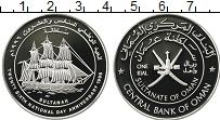 Продать Монеты Оман 1 риал 1996 Серебро