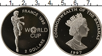 Изображение Монеты Багамские острова 2 доллара 1997 Серебро Proof-