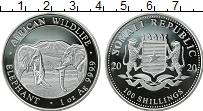 Продать Монеты Сомали 100 шиллингов 2020 Серебро