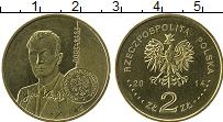 Продать Монеты Польша 2 злотых 2014 Латунь