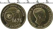 Изображение Монеты Дания 20 крон 2013 Латунь UNC