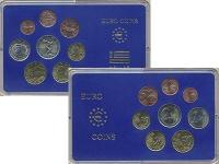 Изображение Подарочные монеты Греция Набор 2004 года 2004  UNC