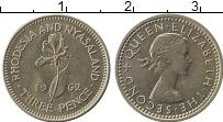Продать Монеты Родезия 3 пенса 1963 Медно-никель