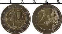 Изображение Монеты Греция 2 евро 2015 Биметалл UNC 75 лет со дня смерти