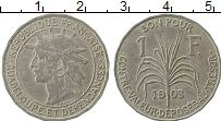 Изображение Монеты Северная Америка Гваделупа 1 франк 1903 Медно-никель XF-