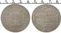 Изображение Монеты Южная Америка Бразилия 960 рейс 1815 Серебро VF