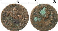 Изображение Монеты Польша 1 боратинка 1665 Медь VF Ян Казимир.