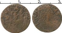 Изображение Монеты Польша 1 боратинка 1664 Медь VF Ян Казимир.