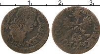 Изображение Монеты Польша 1 боратинка 1664 Медь VF+