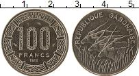 Продать Монеты Габон 100 франков 1985 Медно-никель