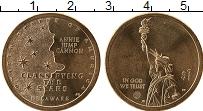 Изображение Мелочь США 1 доллар 2019 Латунь UNC