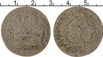 Продать Монеты Бранденбург-Байрот 20 крейцеров 1762 Серебро