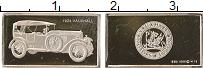 Изображение Монеты США Жетон Автомобиль 0 Серебро Proof- Автомобиль VAUXHALL
