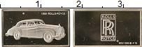 Изображение Монеты США Жетон Автомобиль 0 Серебро Proof- Автомобиль ROLLS0ROY