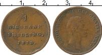 Изображение Монеты Дания 1 скиллинг 1818 Медь XF-