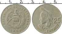 Продать Монеты Гватемала 25 сентаво 1966 Медно-никель