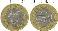 Изображение Монеты Азия Бахрейн 100 филс 1992 Биметалл XF