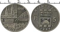 Изображение Монеты Европа Нидерланды 5 флоринов 2000 Медно-никель UNC