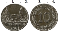 Изображение Монеты Германия : Нотгельды 10 пфеннигов 1918 Железо XF Альтена