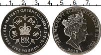 Продать Монеты Тристан-да-Кунья 5 фунтов 2015 Серебро