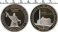 Изображение Монеты Турция 20 лир 2018 Серебро Proof Мечеть  Ахи  Эврана
