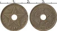 Изображение Монеты Бельгийское Конго 5 сантим 1925 Медно-никель XF