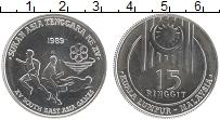 Изображение Монеты Малайзия 15 рингит 1989 Медно-никель UNC- XV азиатские игры