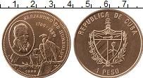 Изображение Монеты Куба 1 песо 1989 Медь UNC-