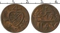 Изображение Монеты Нидерландская Индия 1 мохар 1783 Медь XF-