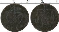 Изображение Монеты Индия Бомбей 1/2 пайса 1794 Медь VF
