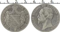 Продать Монеты Саксе-Мейнинген 1 талер 1866 Серебро