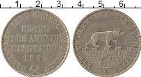 Продать Монеты Анхальт 1 талер 1862 Серебро