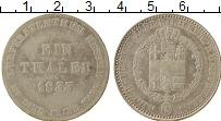 Изображение Монеты Гессен-Кассель 1 талер 1833 Серебро VF Вильгельм II